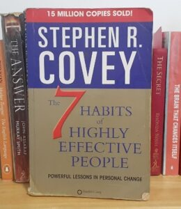 Alice Dartnell Life Success Coach Consultation London book Stephen Covey's The 7 Habits of Highly Effective People