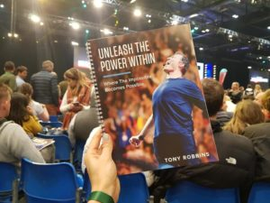 Alice Dartnell Life Success Coach London UK at Tony_Robbins Unleash the Power Within seminar in England UK #tonyrobbins