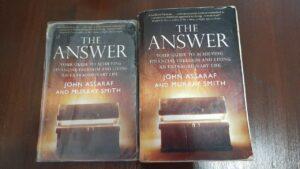 Alice Dartnell Life Success Coach Consultation London book The Answer John Assaraf sat bookshelf