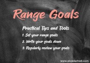 Alice Dartnell Life Success Coach London Consultation Max Lenz Stuggart SMART Range GGoals Chalkboard Graphic range goals SMART