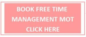 Alice Dartnell Life Success Coach London UK Time Management button pink
