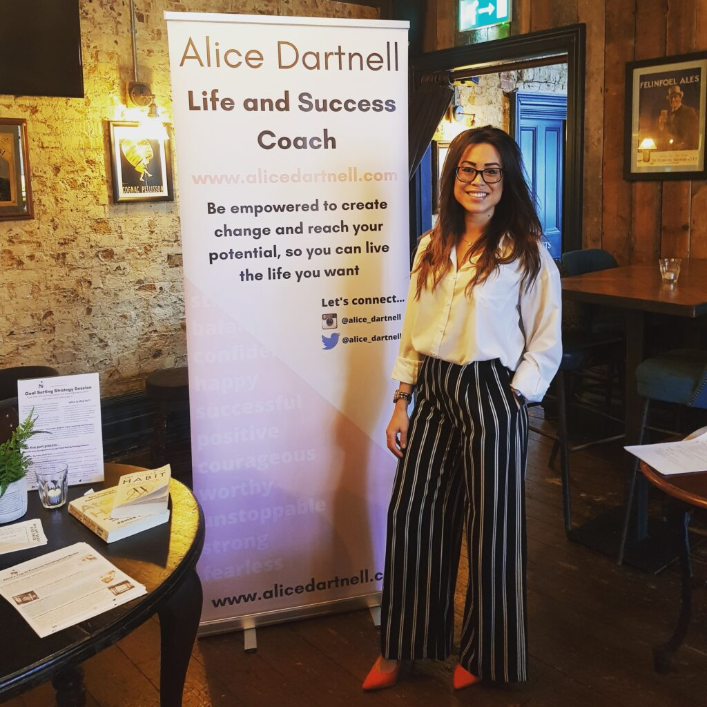 Alice Dartnell London Life Coach business workshop life coach